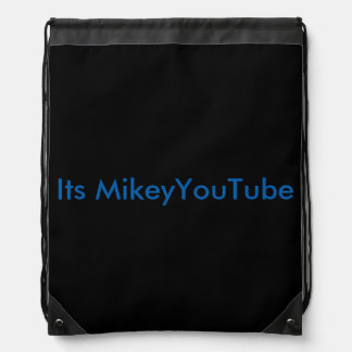 Drawstring Youtube bag