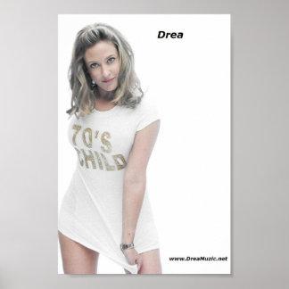 Drea 70's Child Poster