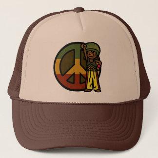 dread head. trucker hat
