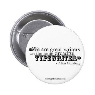 Dreadful typewriter pin