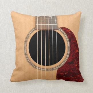 Dreadnought Acoustic 6 string Guitar pillow