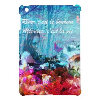 Dream and wait among corals iPad mini case