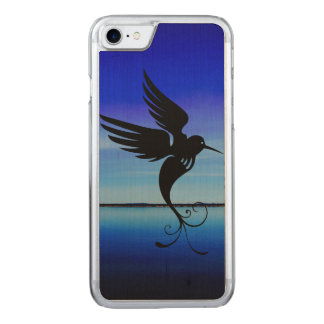 Dream art bird awesome fly in air carved iPhone 8/7 case