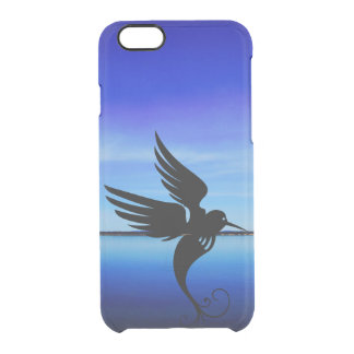 Dream art bird awesome fly in air clear iPhone 6/6S case
