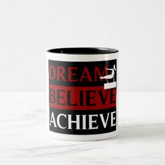 Dream Believe Achieve Gymnastics Mug