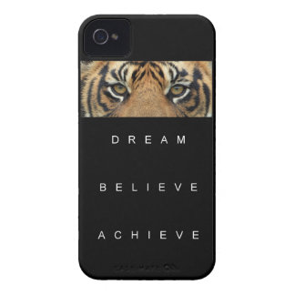 dream believe achieve motivational quote iPhone 4 case