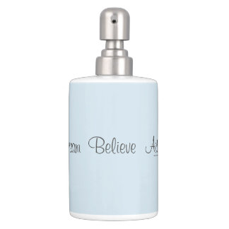 Dream  Believe  Action Bathroom Set