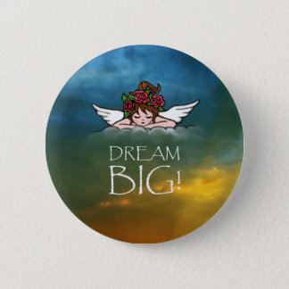 Dream Big 2 Inch Round Button