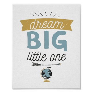 Dream Big Adventure Sign