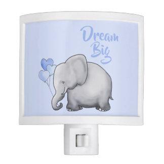 Dream Big Baby Elephant Kids Nursery Night Lites