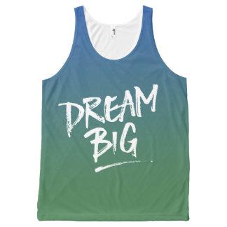 Dream Big Blue Green Ombre