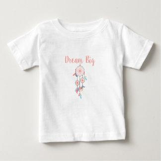 Dream Big Dreamcatcher Dream Catcher in Peach Baby T-Shirt