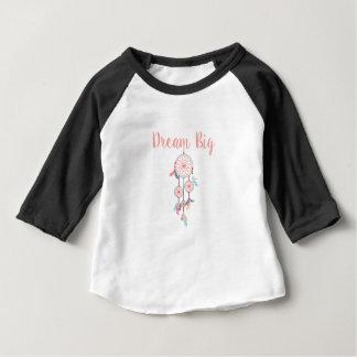 Dream-Big-Dreamcatcher-peach Baby T-Shirt
