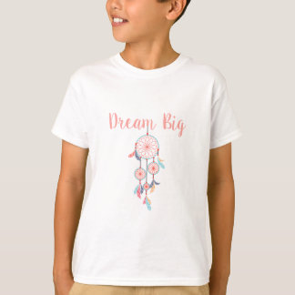 Dream-Big-Dreamcatcher-peach T-Shirt