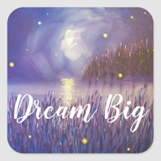 Dream Big Firefly Sticker