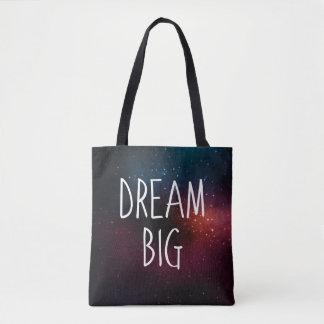 Dream Big   Galaxy Stars Tote Bag