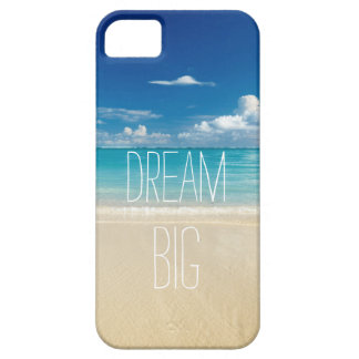 Dream Big - Inspirational and Motivational Quote iPhone 5 Case