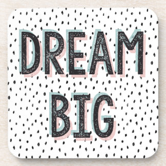 Dream Big Inspirational Quote Coaster Set