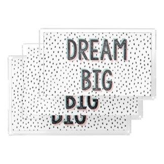 Dream Big Inspirational Quote Vanity Tray Set