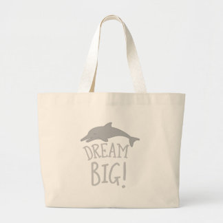 dream big large tote bag