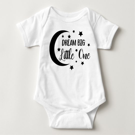 Dream big little one- baby gifts baby bodysuit