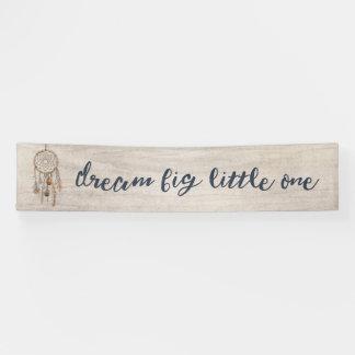 Dream Big Little One Birthday Party Banner