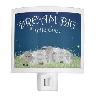 Dream Big Little One Cute Nursery Art Nite Lites