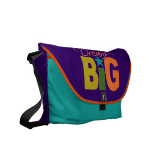 Dream BIG messenger bag - choose colors!
