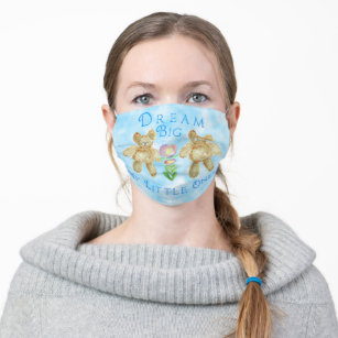 Dream big my little ones cloth face mask