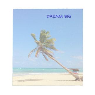 dream big- notepad