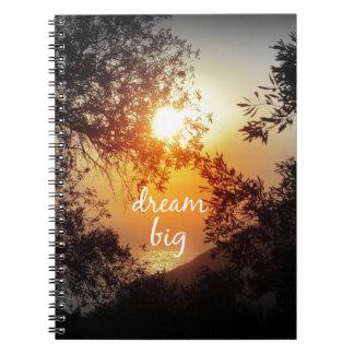 Dream Big Quote Notebooks