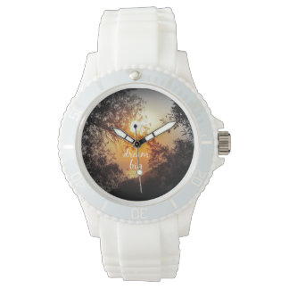 Dream Big Quote Wristwatches