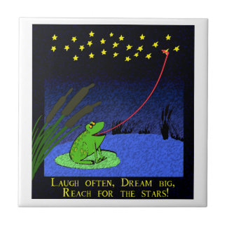 dream big, reach for the stars tile