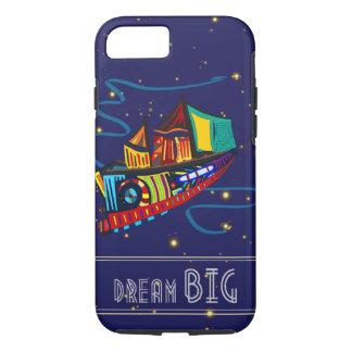 Dream Big Sky Ship iPhone 7 Case