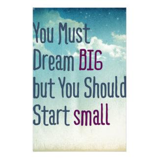 Dream Big Stationery