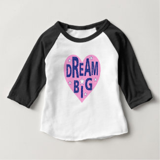 Dream big vintage heart baby T-Shirt