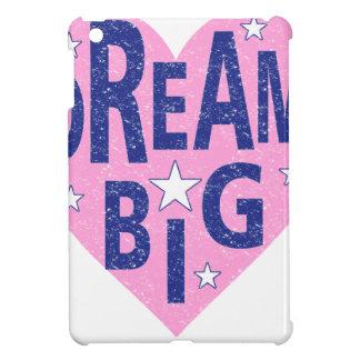 Dream big vintage heart iPad mini cover