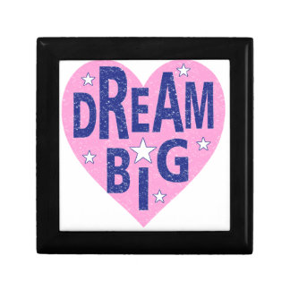 Dream big vintage heart keepsake boxes
