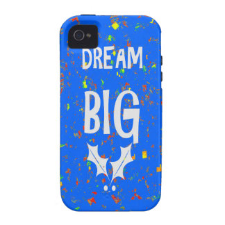 DREAM BIG wisdom script text motivational GIFTS Vibe iPhone 4 Case