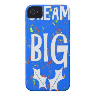 DREAM BIG wisdom script text motivational GIFTS iPhone 4 Case-Mate Cases