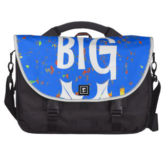 DREAM BIG wisdom script text motivational GIFTS Bag For Laptop