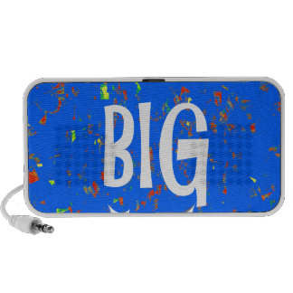 DREAM BIG wisdom script text motivational GIFTS Travelling Speaker