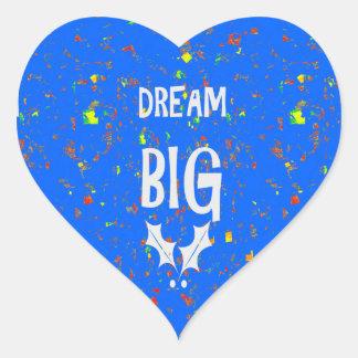 DREAM BIG wisdom script text motivational GIFTS Stickers
