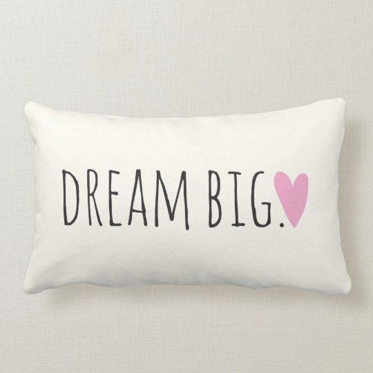 Dream Big with Heart Lumbar Pillow