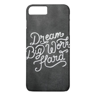 Dream Big Work Hard Case-Mate iPhone Case