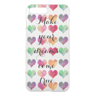 Dream big. Work hard. iPhone 8 Plus/7 Plus Case