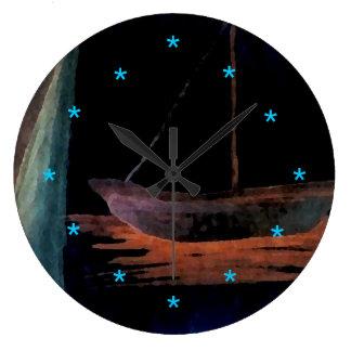 Dream Boat Art Clock New Retro Retro