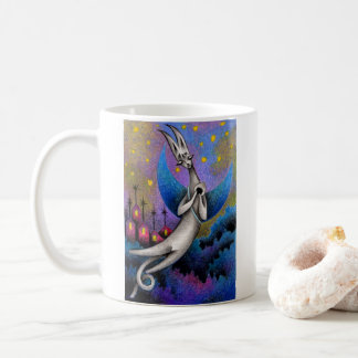 Dream cat coffee mug