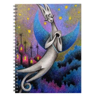 Dream cat notebook