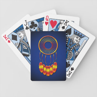 Dream Catcher Bicycle Playing Cards